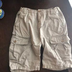 Boys size 10 lucky brand cargo shorts adj waist